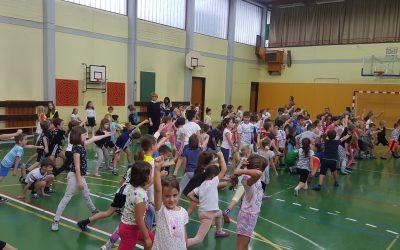 Plesni športni dan 1., 2., 3., in 4. razreda