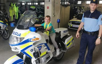 OGLED POLICIJSKE POSTAJE KRANJ
